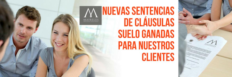 sENTENCIAS CLAUSULAS SUELO